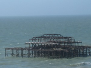 The Fire-bombed Pier